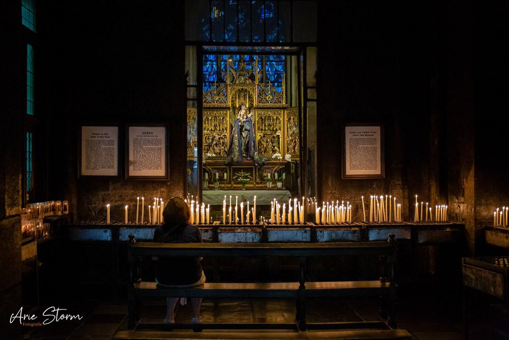 Lieve Vrouwe Basiliek te Maastricht door Arie Storm Fotografie